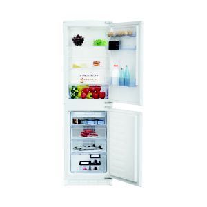 Beko ICQFD355 50:50 White Integrated Fridge freezer