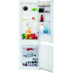 Beko ICQFD373 70:30 White Integrated Fridge freezer