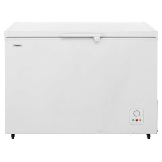 Fridgemaster MCF306 113cm Chest Freezer in White 306L 0 83m A Rated