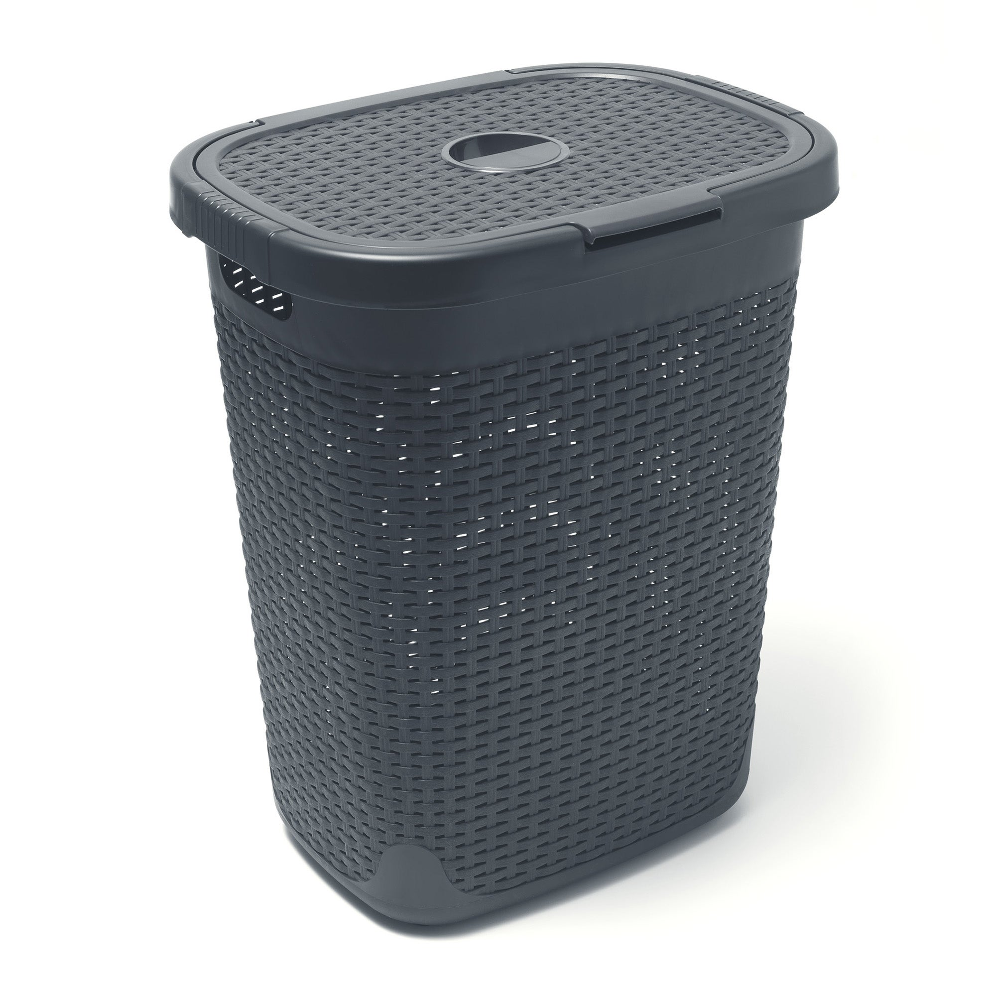 Addis 50L Charcoal Laundry Hamper Charcoal